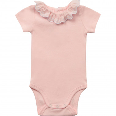 Organic cotton bodysuit CARREMENT BEAU for GIRL