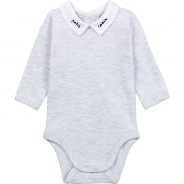 Embroidered cotton onesie CARREMENT BEAU for BOY