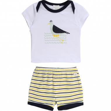 Shorts and T-shirt set CARREMENT BEAU for BOY