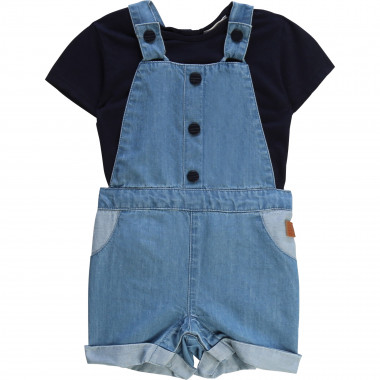 T-shirt and dungarees set CARREMENT BEAU for BOY