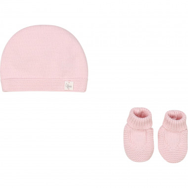 Knitted cap and slippers CARREMENT BEAU for GIRL