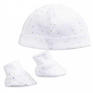 Beanie and booties set CARREMENT BEAU for GIRL