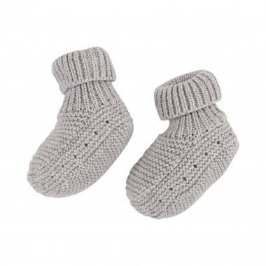 Wool cotton blend knit socks  for