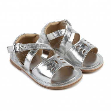 Sandals with openwork motif CARREMENT BEAU for GIRL