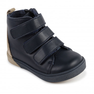 Leather high-top trainers CARREMENT BEAU for BOY