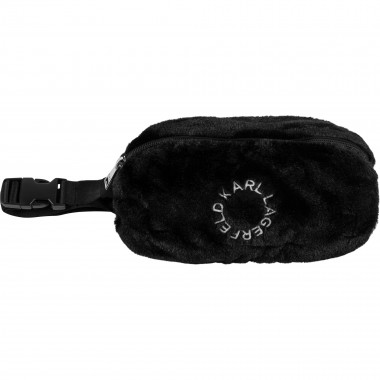 Faux fur bum bag KARL LAGERFELD KIDS for GIRL