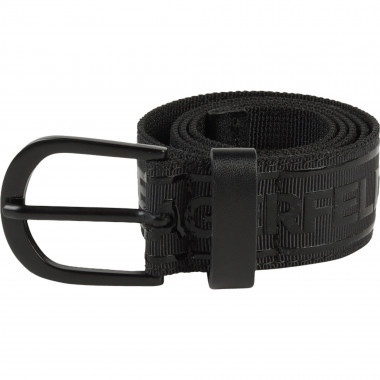 Black braided belt KARL LAGERFELD KIDS for GIRL
