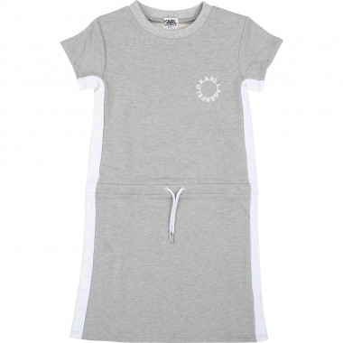 Elasticated waist dress KARL LAGERFELD KIDS for GIRL
