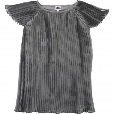 Pleated dress KARL LAGERFELD KIDS for GIRL