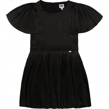 Pleated formal dress KARL LAGERFELD KIDS for GIRL