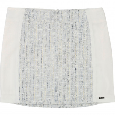 Dual-material skirt KARL LAGERFELD KIDS for GIRL