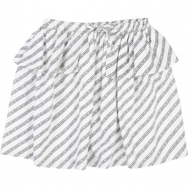 Viscose skirt KARL LAGERFELD KIDS for GIRL