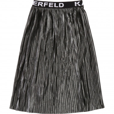 Reversible pleated skirt  for