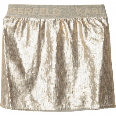 Sequined formal skirt KARL LAGERFELD KIDS for GIRL