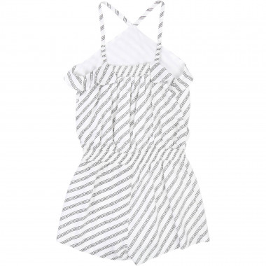 Striped girls' playsuit KARL LAGERFELD KIDS for GIRL