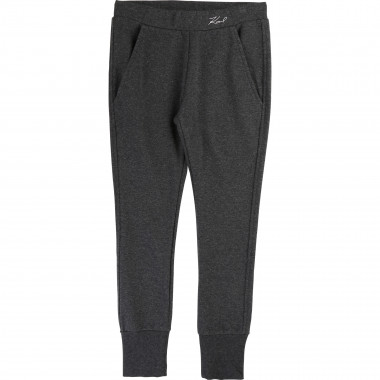 Plain jogging bottoms KARL LAGERFELD KIDS for GIRL