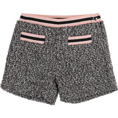 Tweed shorts KARL LAGERFELD KIDS for GIRL