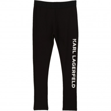 Milano knit leggings KARL LAGERFELD KIDS for GIRL