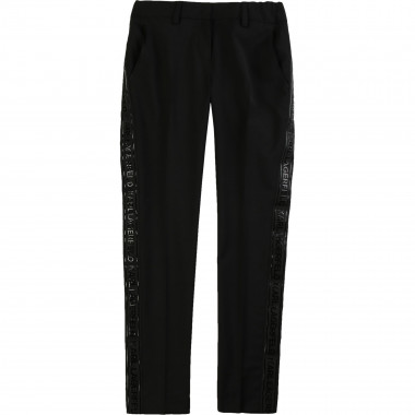 Suit trousers with wool KARL LAGERFELD KIDS for GIRL