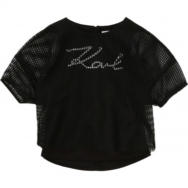 2-in-1 T-shirt with print KARL LAGERFELD KIDS for GIRL