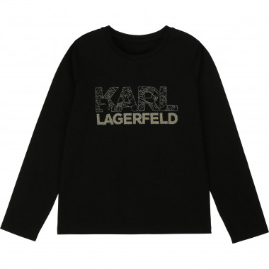 LONG SLEEVE T-SHIRT KARL LAGERFELD KIDS for GIRL