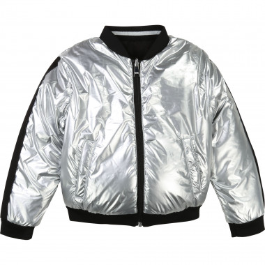 Reversible bomber jacket KARL LAGERFELD KIDS for GIRL