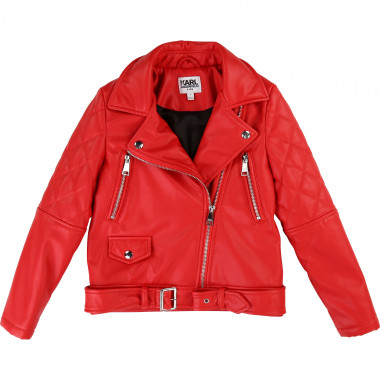 Biker-style jacket KARL LAGERFELD KIDS for GIRL