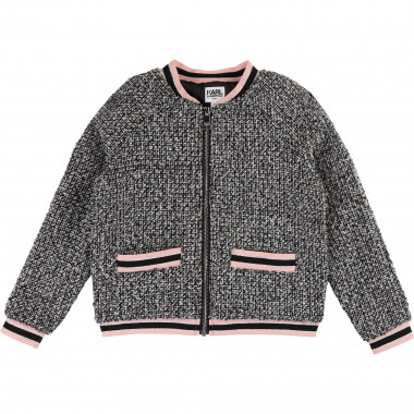 Tweed jacket KARL LAGERFELD KIDS for GIRL