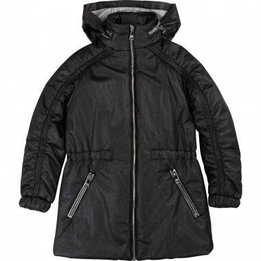 Hooded parka jacket KARL LAGERFELD KIDS for GIRL