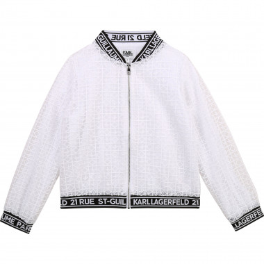 Organza jacket KARL LAGERFELD KIDS for GIRL