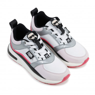 Low-top lace-up trainers KARL LAGERFELD KIDS for GIRL