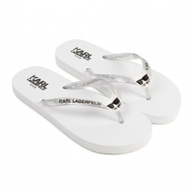Choupette flip-flops KARL LAGERFELD KIDS for GIRL