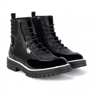 Ankle boots with zips and laces KARL LAGERFELD KIDS for GIRL
