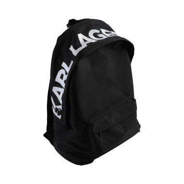 Polyester backpack KARL LAGERFELD KIDS for BOY