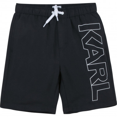 Polyester board shorts KARL LAGERFELD KIDS for BOY