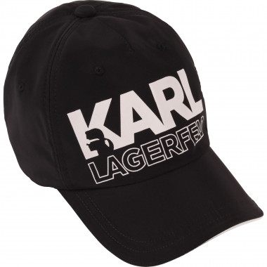 Coated baseball cap KARL LAGERFELD KIDS for BOY