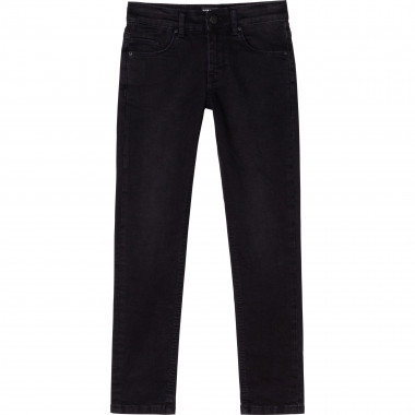 Jeans with logo KARL LAGERFELD KIDS for BOY