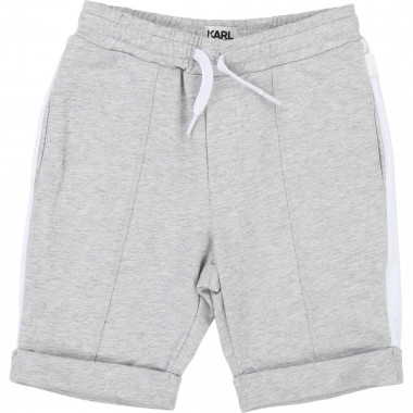 Fleece bermuda shorts KARL LAGERFELD KIDS for BOY