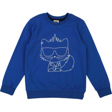 Fleece sweatshirt KARL LAGERFELD KIDS for BOY