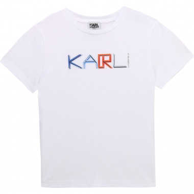 Short-sleeved T-shirt KARL LAGERFELD KIDS for BOY