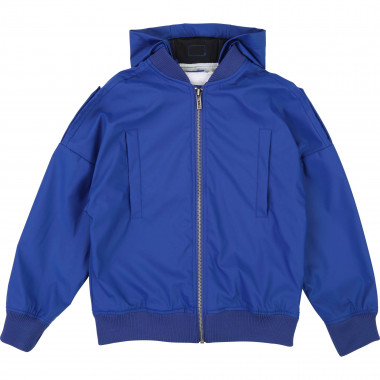 Oversized waterproof jacket KARL LAGERFELD KIDS for BOY