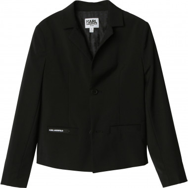 Buttoned suit jacket KARL LAGERFELD KIDS for BOY