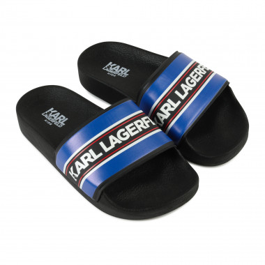 Printed flip-flops KARL LAGERFELD KIDS for BOY