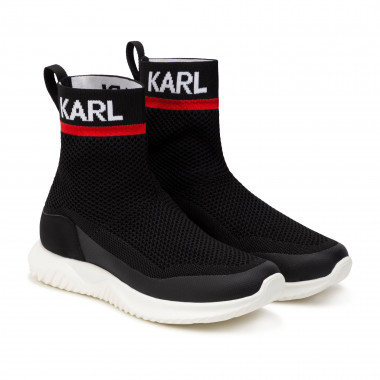 Tricot sock trainers KARL LAGERFELD KIDS for BOY
