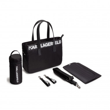 Changing bag with accessories KARL LAGERFELD KIDS for UNISEX