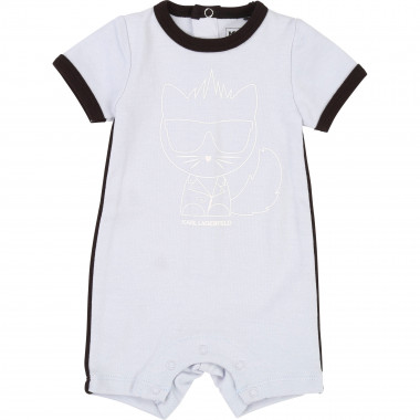 Bad Boy motif playsuit KARL LAGERFELD KIDS for UNISEX