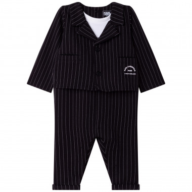 3-in-1 striped playsuit KARL LAGERFELD KIDS for BOY