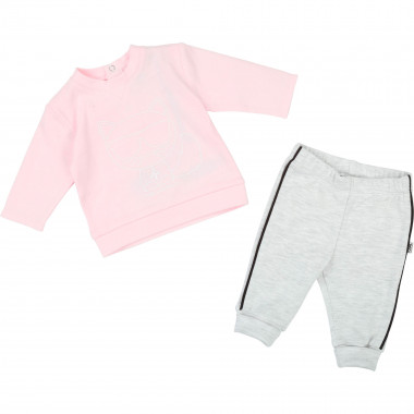 Cotton interlock jogging set KARL LAGERFELD KIDS for UNISEX