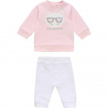 Jogging top and bottoms set KARL LAGERFELD KIDS for UNISEX