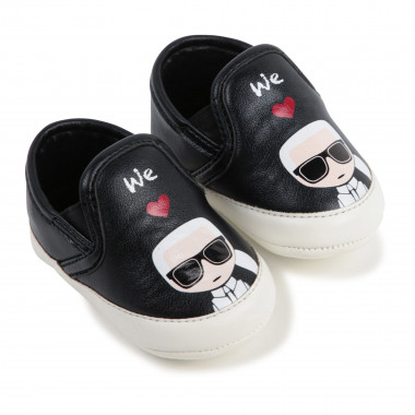 Slippers with print KARL LAGERFELD KIDS for UNISEX